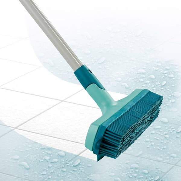 Product Image For Leifheit Click System 3 In 1 Rubber Broom 2 Out