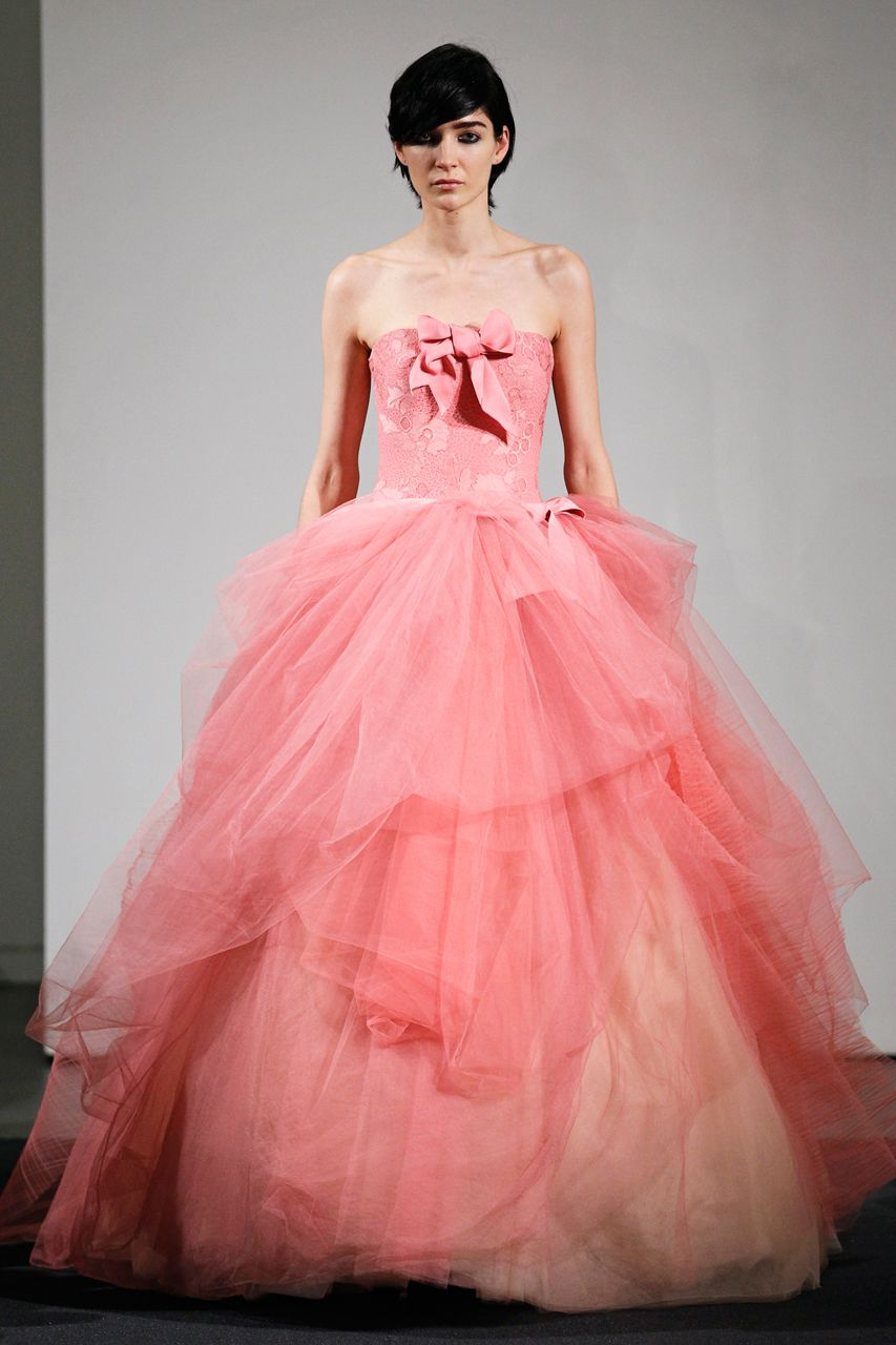Wedding Gown Gallery | Pink tulle, Tulle gown and Gowns