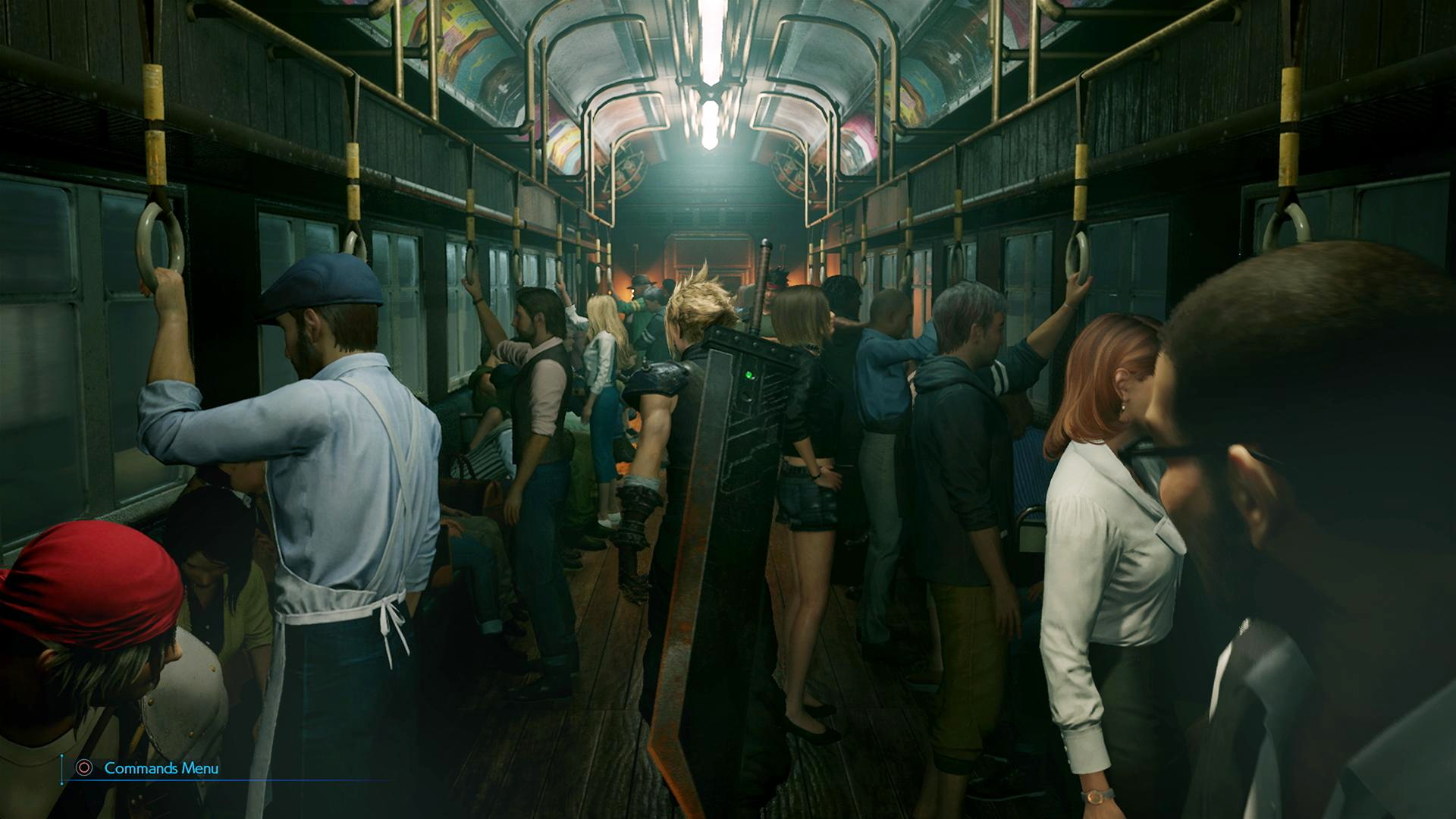 Final Fantasy Vii Remake A Key Art Reproduces The Original