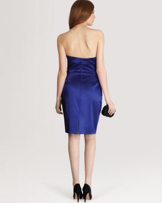 Coast Dress - Abril Duchess Satin Women - Bloomingdale's