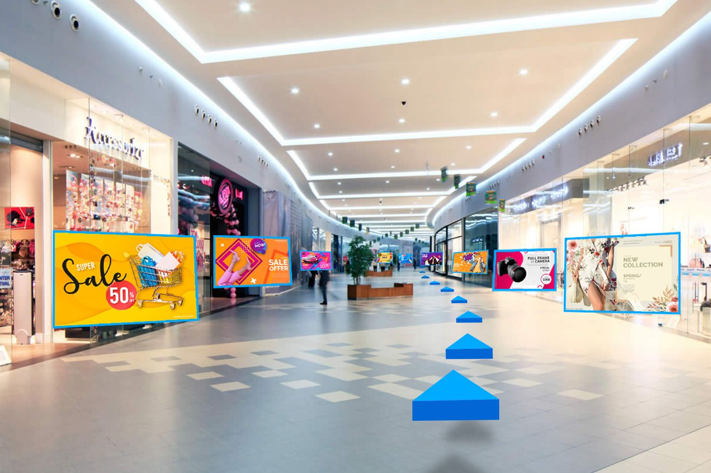 Augmented Shopping Mall | Augmented reality, Virtual reality apps, Medical  technology