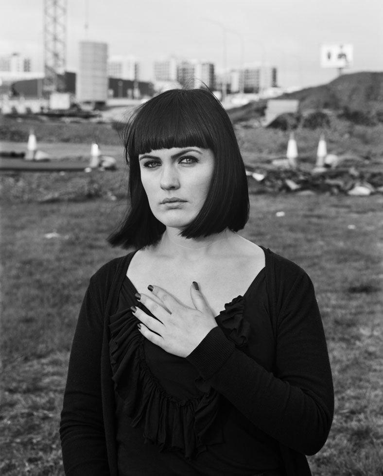 Ute Mahler   Portrait, Portrait black and white, Photo