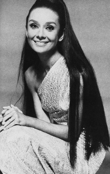 Long Hair Don T Care Audrey Hepburn Hair Audrey Hepburn Photos Audrey Hepburn