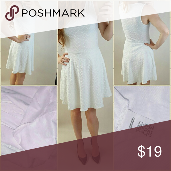 Cute Flirty White Dress Soft dress with full lining, stretchy and would fit a medium or large Dresses