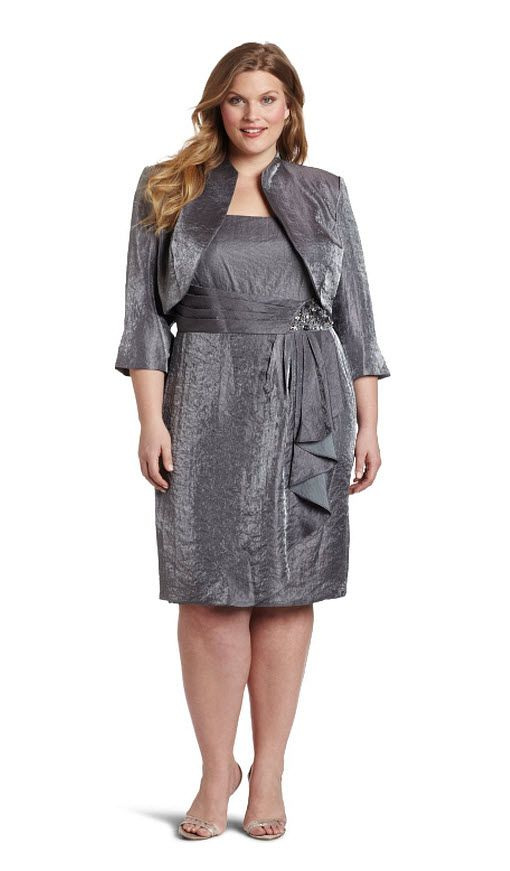 Plus Size Mother Bride Dress | fuller figure Mother of the bride ...