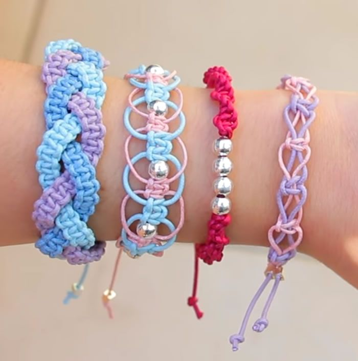 Diy Friendship Bracelets Easy Stackable Arm Candy Projects How To