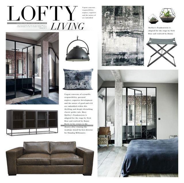Lofty Living by bellamarie liked on Polyvore featuring interior