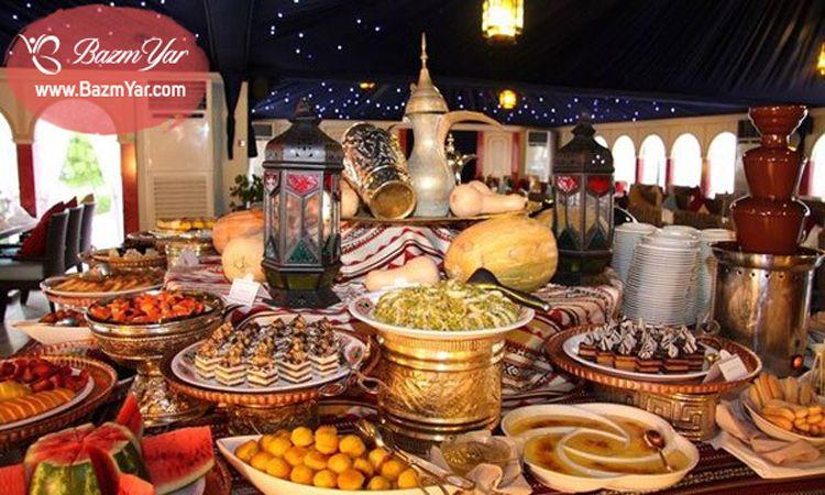 1 سفره افطار مجلل ایده رستورانی Ramadan Iftar Bazmyar Iftar Table رمضان افطاری بزم یار Www Bazmyar Com Iftar Ramadan How To Stay Healthy