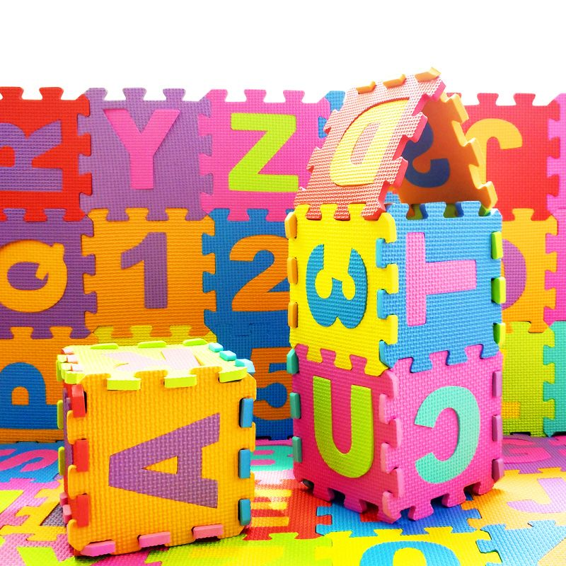36pcs Set Children Puzzle Play Mat Baby Eva Foam Kids Rug Carpet