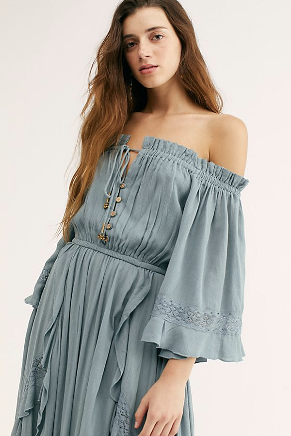 Beach Bliss Maxi Dress In 2020 Maxi Dress Off Shoulder Fashion Dresses
