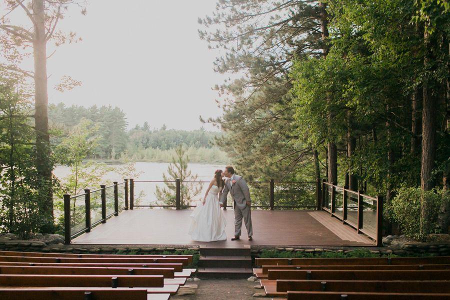 Northwoods Wisconsin Wedding | Outdoor wedding venues ...