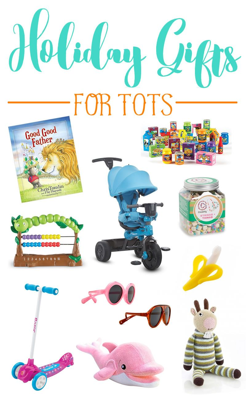 Looking For A Holiday Gift For Your Baby Toddler Niece Nephew Or Another Kid In Your Life The 2016 H Gifts For Kids Unique Holiday Gifts Holiday Gift Guide