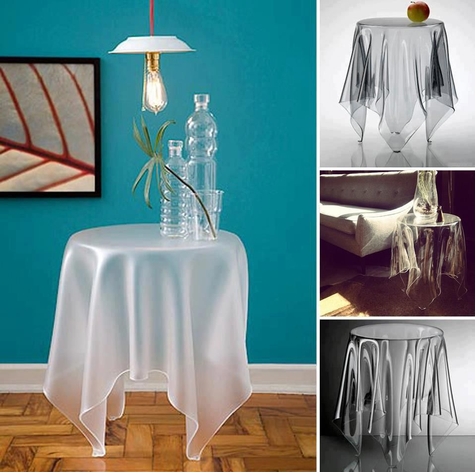 Invisible Table Fun Finds Pinterest Illusions Glass Table - Invisible coffee table