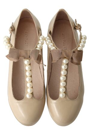 Jill Stuart flat shoes with ribbon