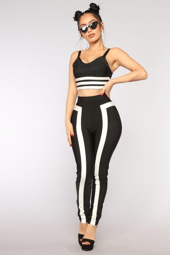 Daily Reminder Set BlackWhite | Fashion nova outfits