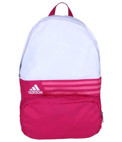 mochila adidas neo rosa