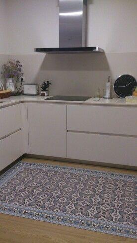 Cocina y super alfombra de vinilo cocina pinterest - Alfombras de vinilo para cocina ...