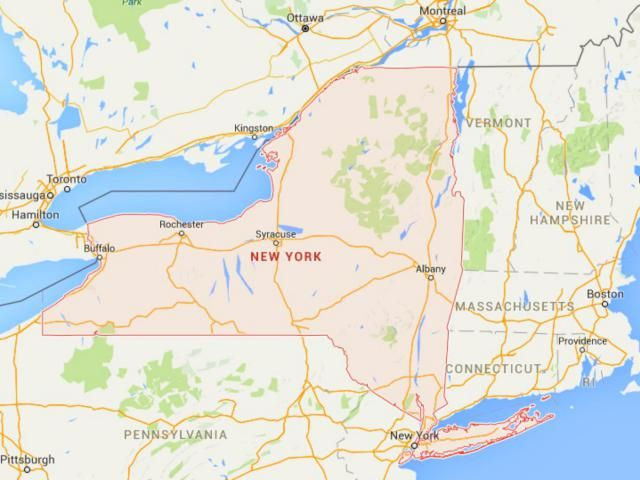 Maps Of New York State From Niagara Falls To Nyc Map Of