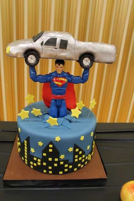 Novelty Cakes Sweet Cakes by Karen Superman Pinterest Birthdays