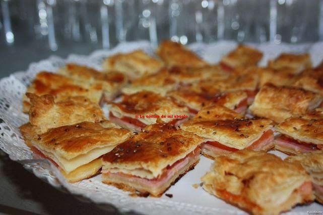 La cocina de mi abuelo receta empanada hojaldrada de queso jam n cocido cocina - La cocina de mi abuelo ...
