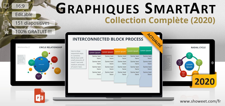 Graphiques PowerPoint SmartArt - Collection Complète ...