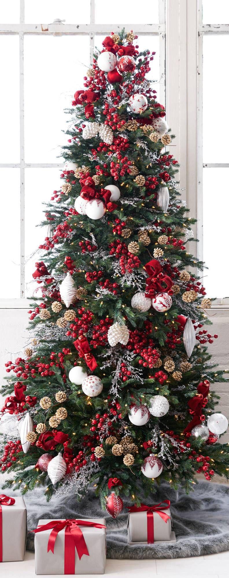 Rustic Christmas Decorating Ideas | Weihnachtsbäume, Weihnachten und ...