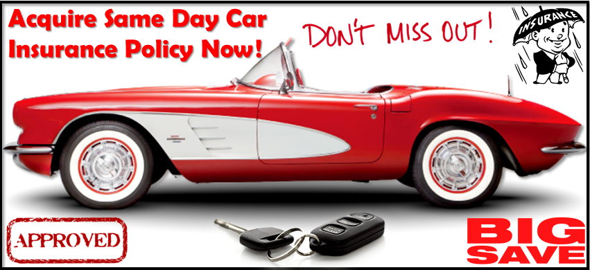 No Money Down Car Insurance For Same Day With No Credit Check