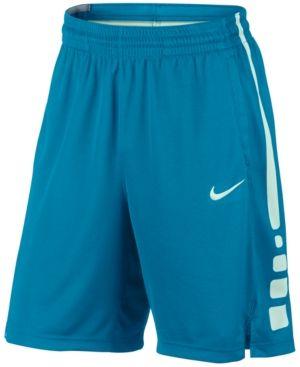 Nike FREE SHIPPING Dri-Fit Men/'s Elite Stripe Basketball Shorts NWT