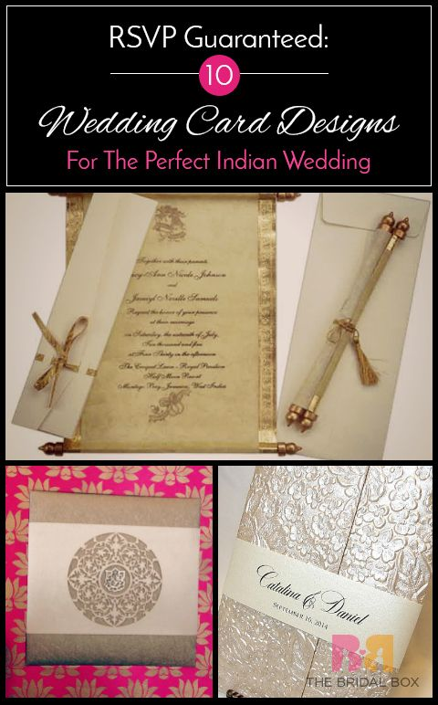 rsvp guaranteed 10 indian wedding card designs for the