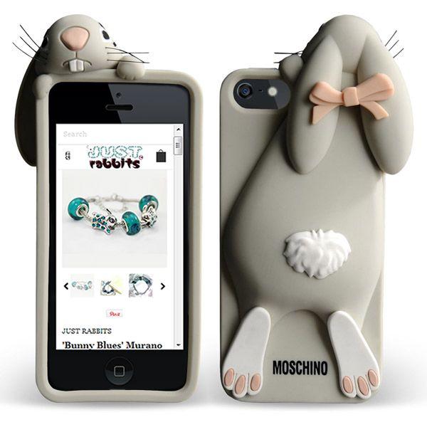 cover iphone 5 moschino coniglio