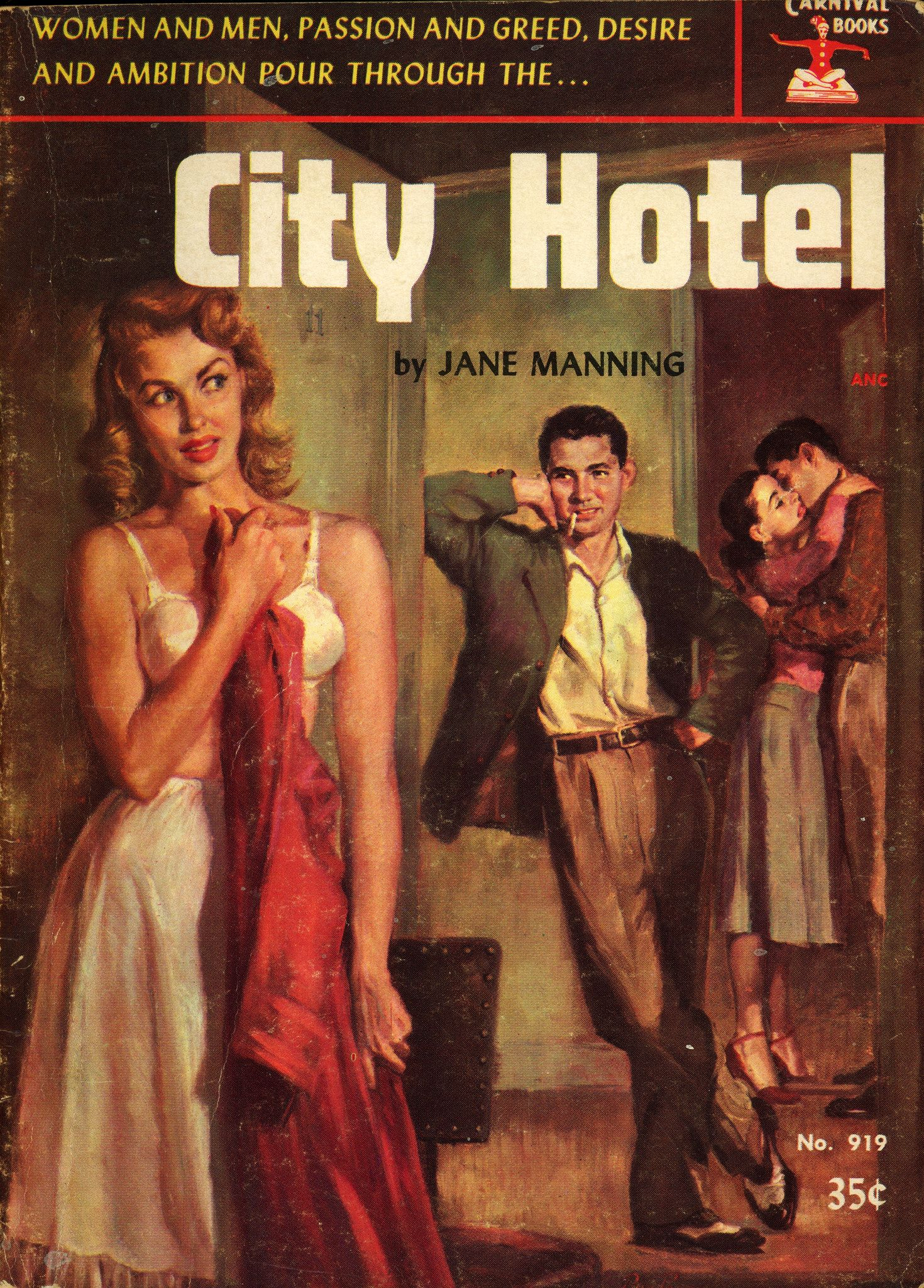 Women And Men, Passion And Greed, Desire And Ambition Pour Through The... City Hotel viavia