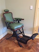 Antique Barbers Chair Adelaide Cbd Adelaide City Preview Home