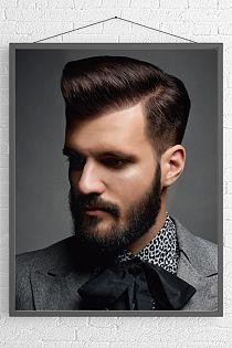 Frisuren Männer Beard Hair Pompadour Modern Pompadour