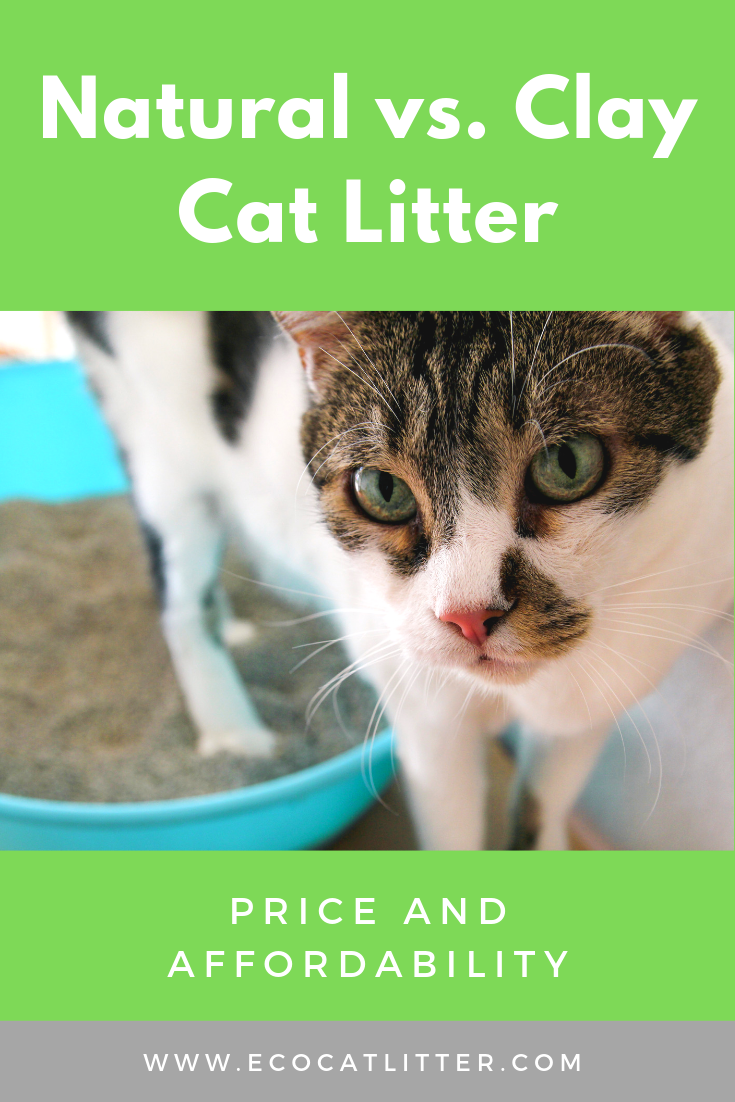 Natural vs. Clay Cat Litter Price Natural cat litter