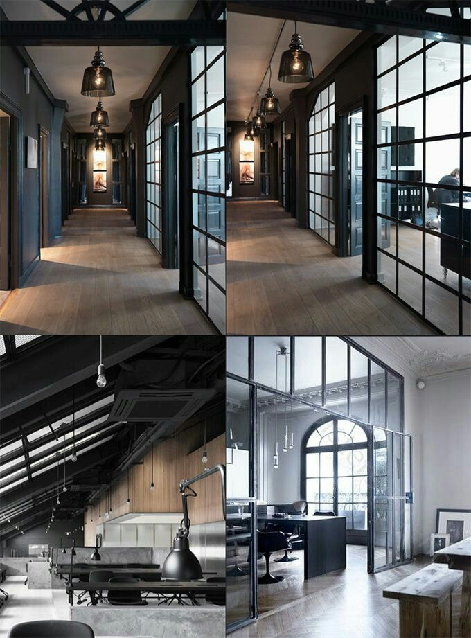 Delightful Office Industrial magnificent galley kitchen layout decorated with long lasting stainless steel cabinet and hood interior design Modern Industrial Metal And Wood Chair