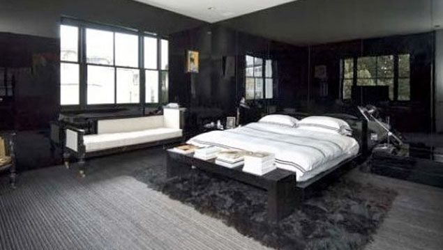 Top 10 Fashion Homes Offices Celebrity Bedrooms London House