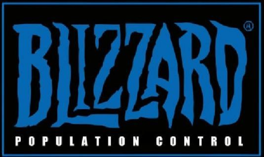 Blizzard Another Word for Population Control Funny