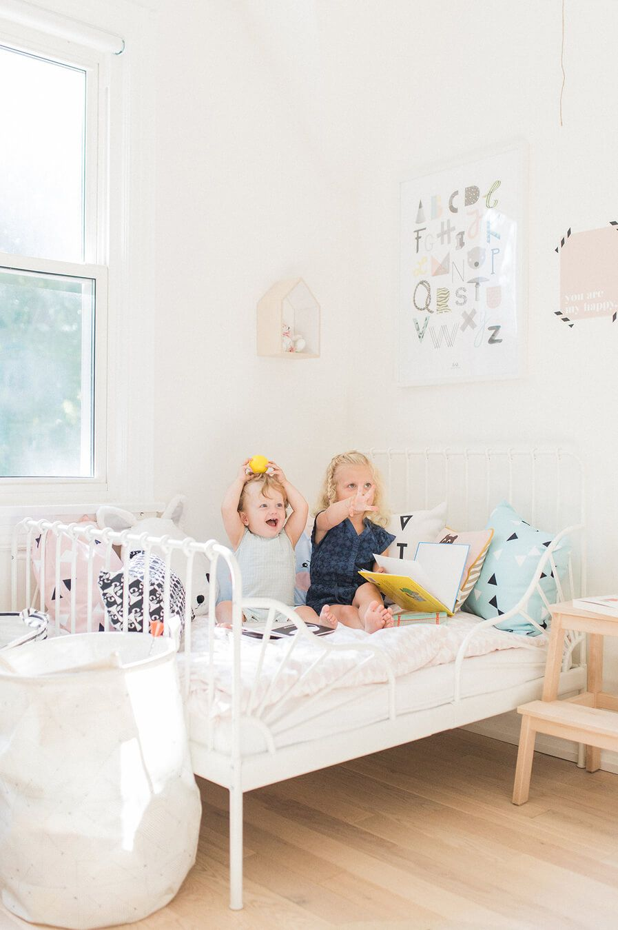 A wonderful baby and toddler shared kids room images