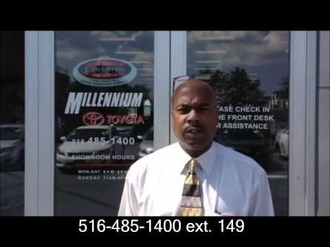 Certified Gold Sales Consultant Al From Millennium Toyota In Hempstead, New  York Introduces Himself To