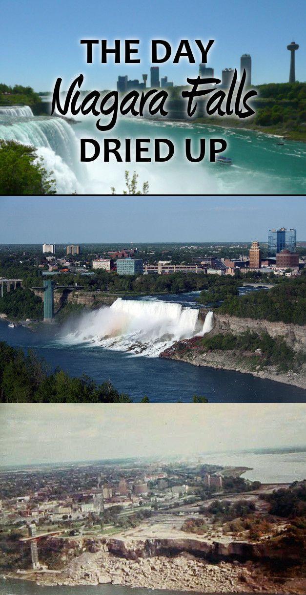 The Day Niagara Falls Dried Up Knowledge Stew Niagara Falls Day Fun Facts