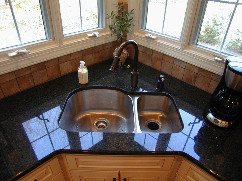 Corner Kitchen Sink Design Ideas Spulbecken Design Kuchenumbau Und Waschbecken Design