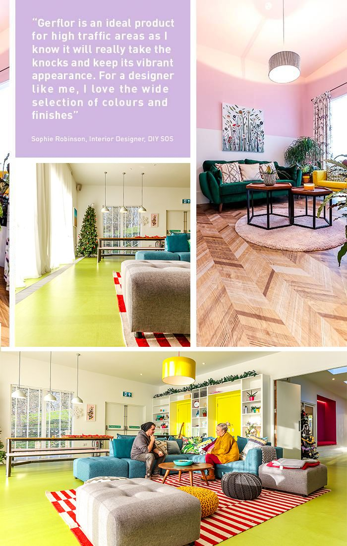 """We love hearing from our clients! """"Gerflor's Taralay"""