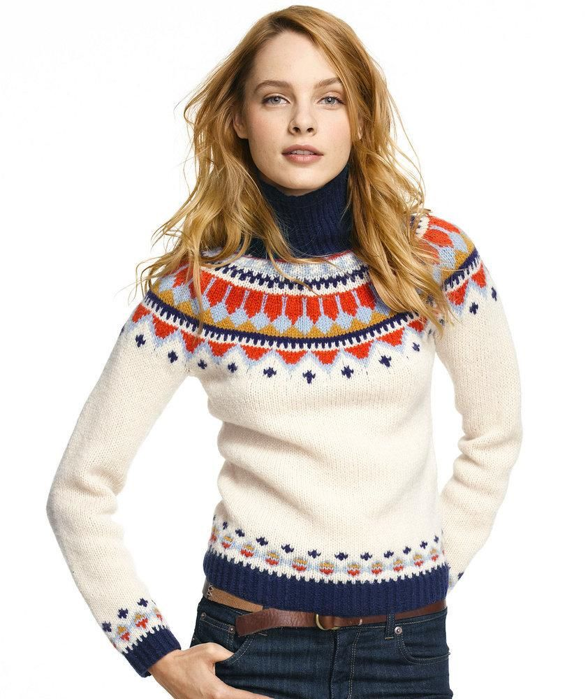 L.L. Bean Signature Handknit Fair Isle Sweater | If You Want To ...