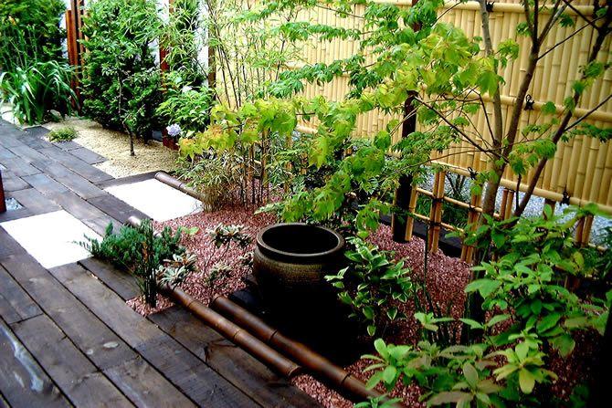 Diseno De Terraza Y Jardin Al Estilo Japones Japanese Garden Diy Garden Garden Design