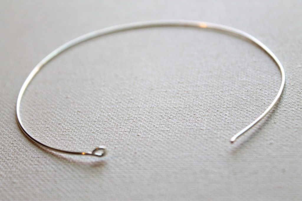 How to Make a Bangle Bracelet with 24 gauge wire | Jewelry ...