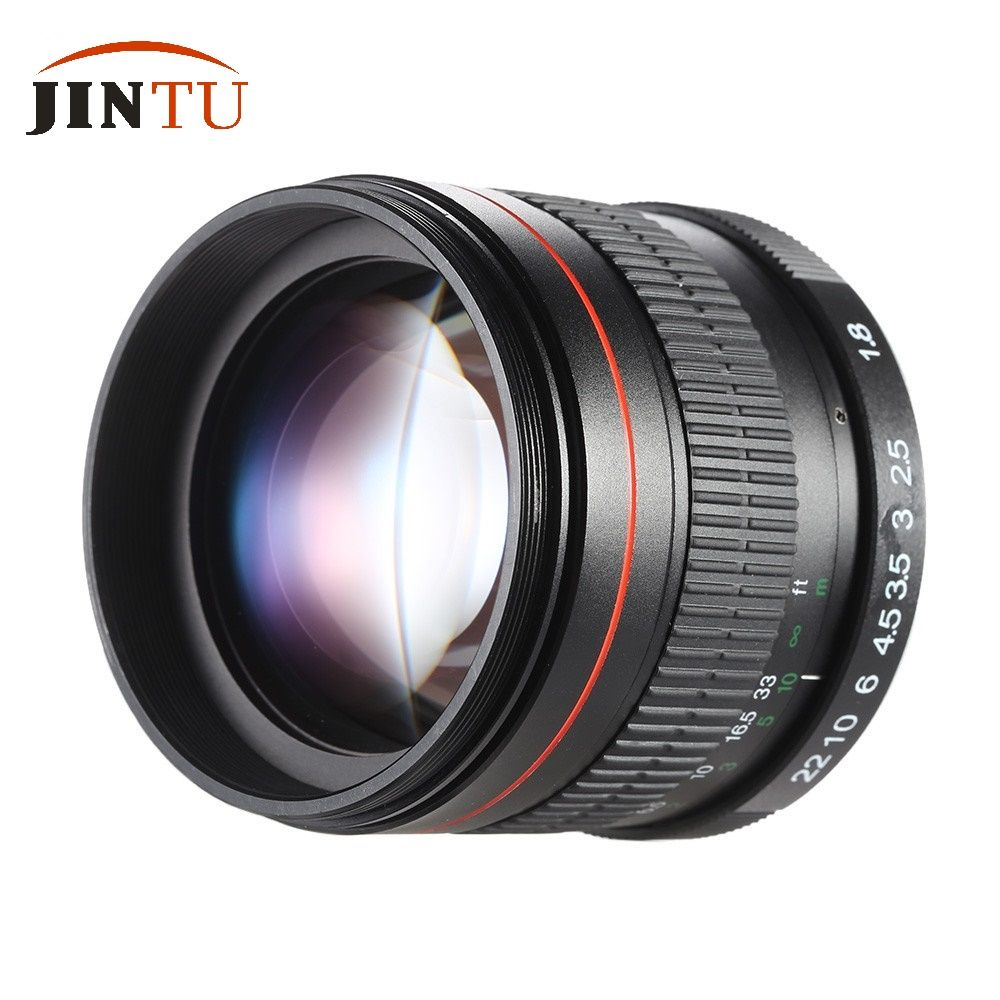 jintu 85mm f1 8 super manual focus portrait lens for canon eos t5i rh pinterest com canon eos 550d manual focus canon eos 550d manual focus