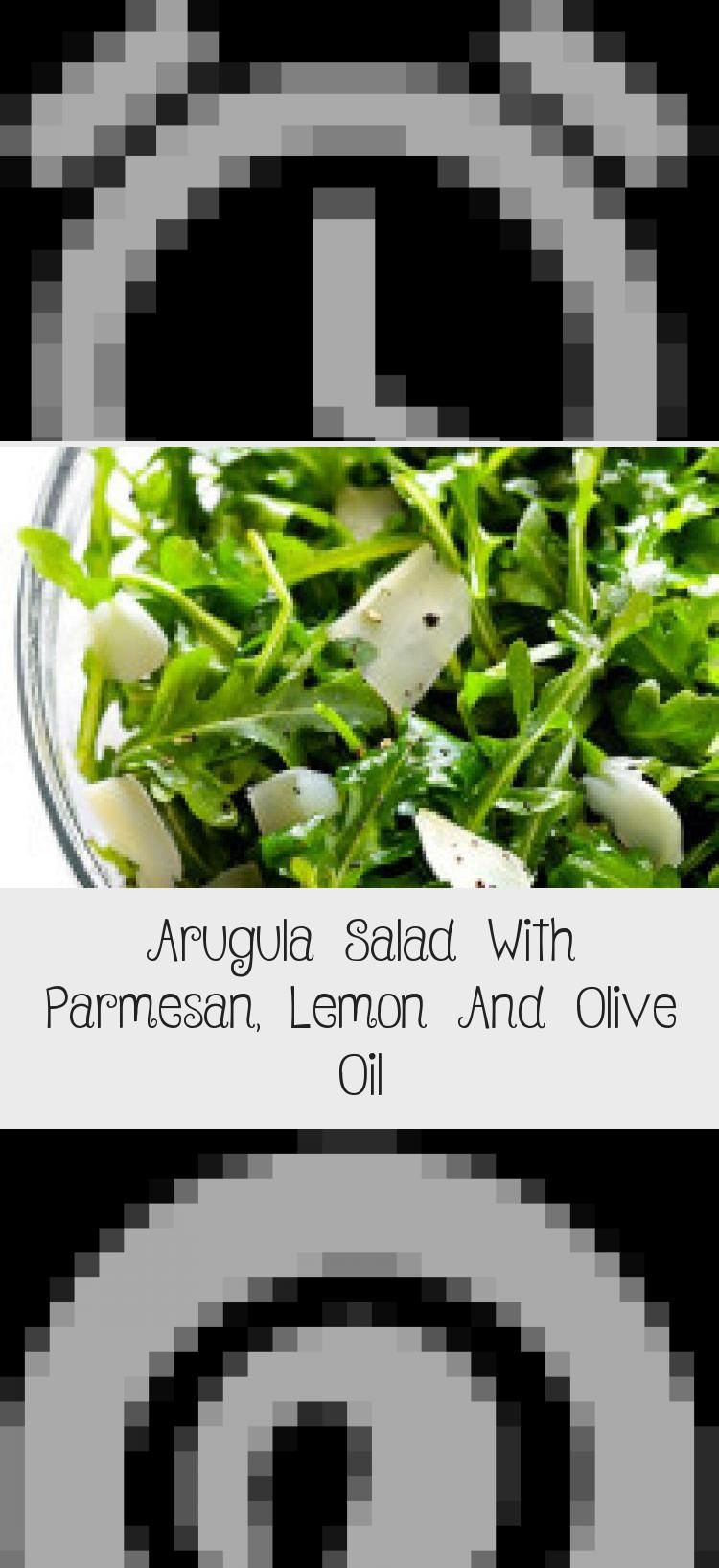 5-Ingredient Arugula Salad with Parmesan, Lemon and Olive Oil -- super easy, and always so fresh and tasty! | gimmesomeoven.com #Tunasalad #saladPrintemps #Beetsalad #saladBuah #saladPates