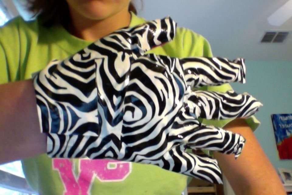 Duct Tape Glove