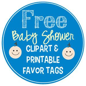 The ultimate list of baby shower clip art favors babies and free shower favors negle Image collections