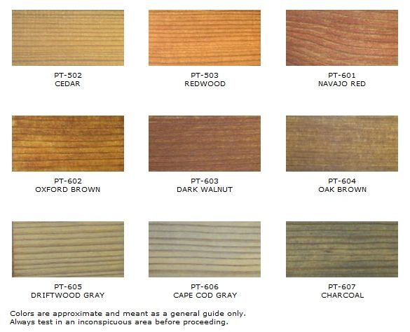 Deck Stain Colors For Pressure Treated Wood Cottage